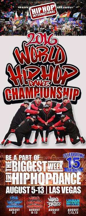 2016 World Hip Hop Dance Championship